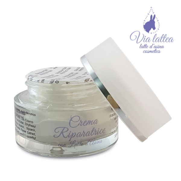 cosmetici al latte d'asina crema riparatrice